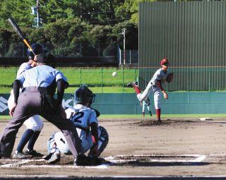 西部中学野球大会が開幕 4球場で9試合