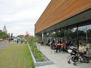 公園カフェ にぎわい創出 土地使用料 射水市が維持管理に活用
