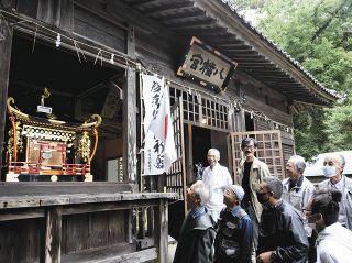 菊川・平尾八幡宮で5年に1度の大祭