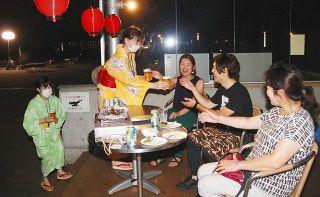 屋外飲食 予防しっかり 七尾の市民団体 開催