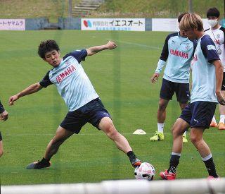 J2磐田 期待の新人森岡 レギュラー定着にあと一歩