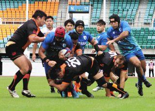 静岡ブルーレヴズ完敗 ラグビーリーグワン、初の対外試合