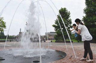 富山市35.2度 ☀ 初の猛暑日
