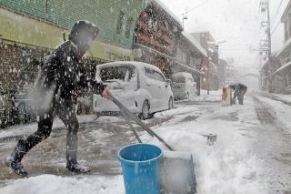 福井県で大雪
