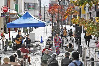 福井の中心で 音楽に親しむ 県内で活躍バンド出演