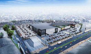 春日井の「ザ・モール」跡地に大型商業施設 来秋オープン予定、西友も再出店