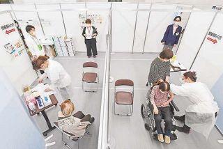 一般高齢者の接種開始 県内トップ切り福井市 コロナワクチン