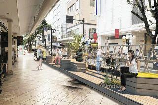 25日から静岡市で「パークレット」の社会実験