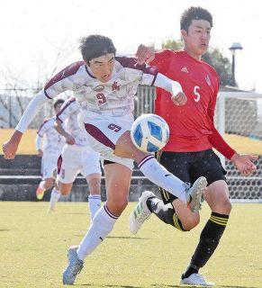 丸岡高 県勢初優勝 ツエーゲンU−18に4−2