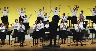 浜松地区中学校音楽発表会 3年生ら成果披露
