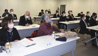 菊川の課題解決策 高校生が市幹部へ提案