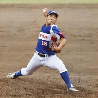 八木(敦賀高出身) ドラフトに名乗り 大学、社会人で努力開花 最速154キロ