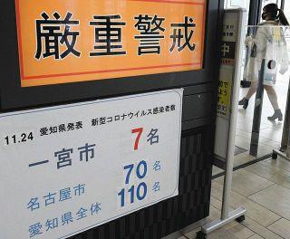 【愛知】コロナ、西尾張でも急増 身構える自治体