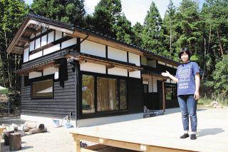 1棟貸し 絶景の宿 地域活性化目指し住民ら開業