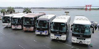 感染対策は万全、観光バスの旅を 浜松・運行会社などPR