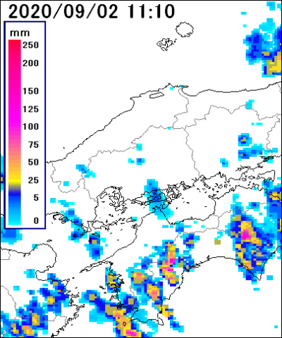 広島県雨雲
