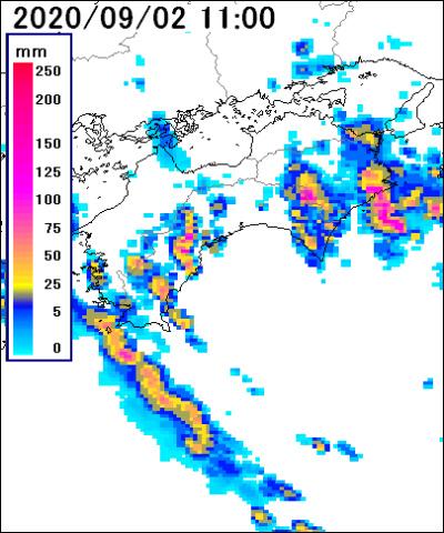 雨雲 レーダー 西 東京 市